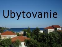 Ubytovanie Chorvatsko