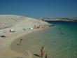 Piesočnatá pláž na ostrove Pag - Krásna malá pláž kúsok od mesta Novalja, za plážou Zrče, kúsok za touto plážou bola ďalšia malá FKK pláž